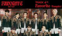 NCT 127 'Favorite (Vampire)' (Official Audio)   Favorite - The 3rd Album Repackage