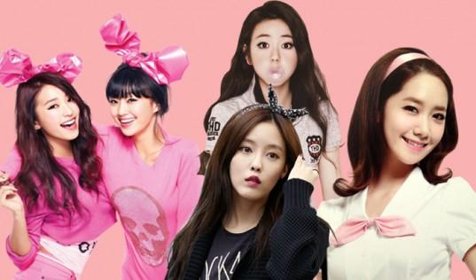 before debut kpop girls