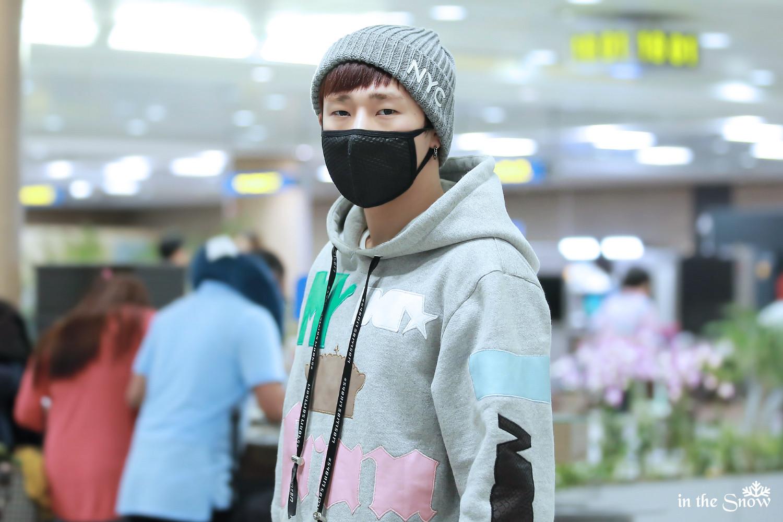 Kpop Idol With Fabulous Airport Fashion Infinite Sunggyu Kpopmap