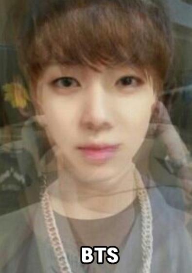 BTS AVERAGE FACE
