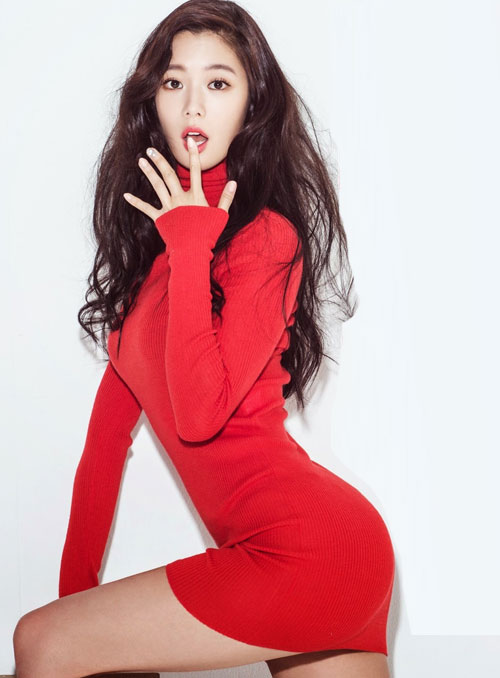 clara kpop sexy santa girl christmas 2015