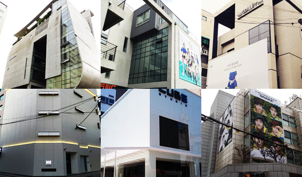 idol agency buildings