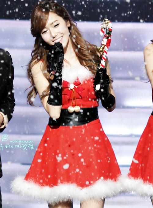 jessica jung kpop sexy santa girl christmas 2015