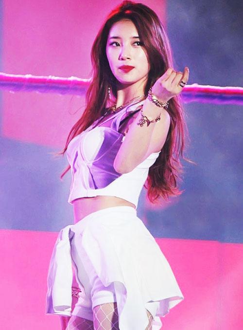 suzy kpop sexy santa girl christmas 2015