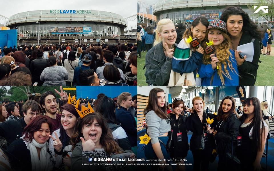 BIGBANG 2015 WORLD TOUR 'MADE' in Melbourne