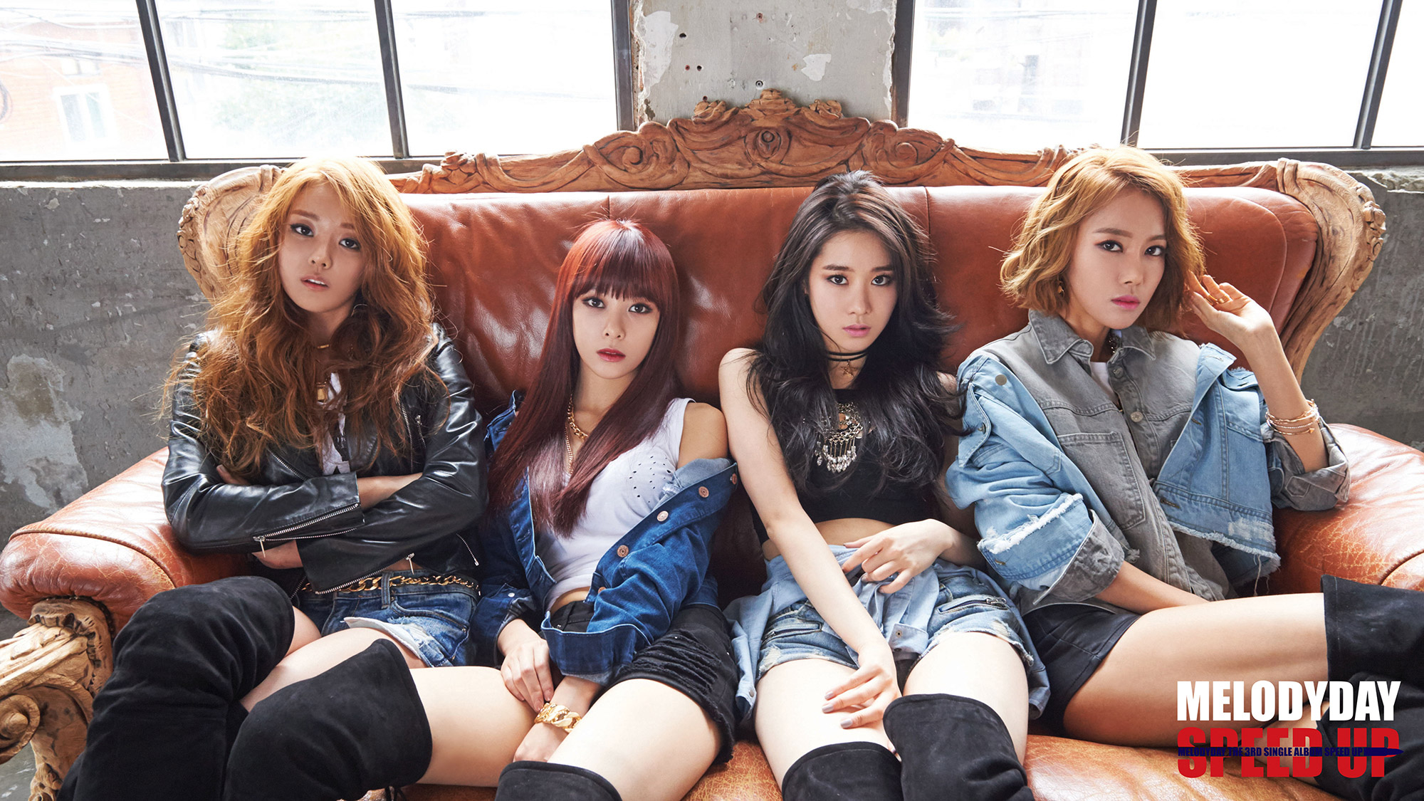 MelodyDay The 3rd Single Album SPEED UP