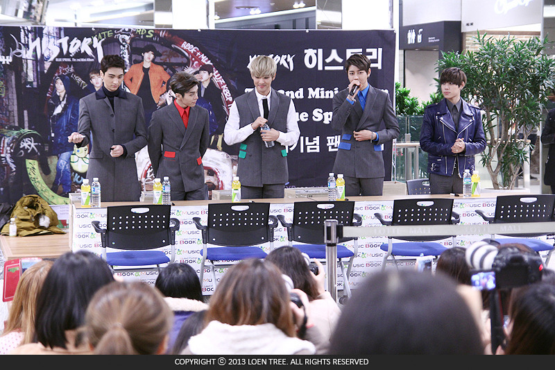 kpop history fansign chair