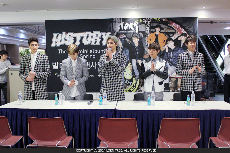 history fansign chair