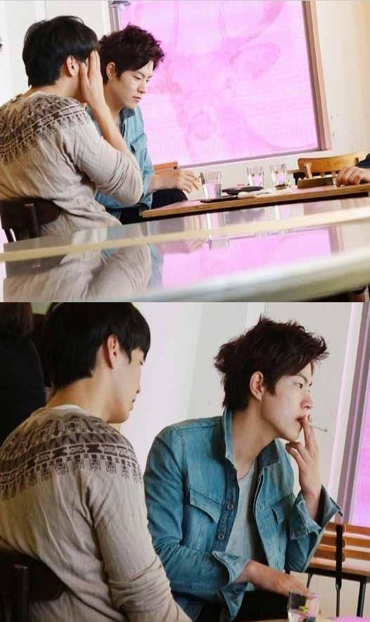 hong jong hyun smoking