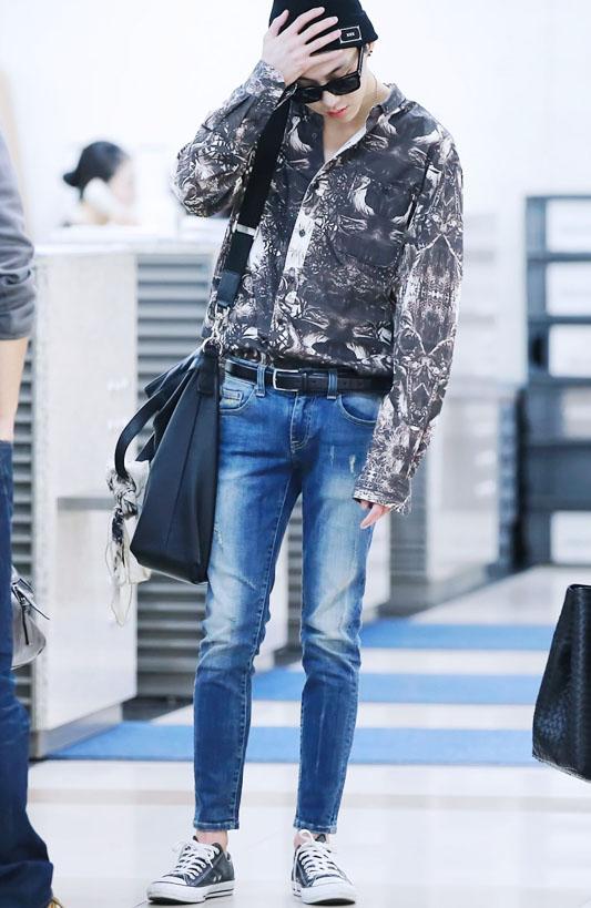 winner kang sueung yoon airport yg