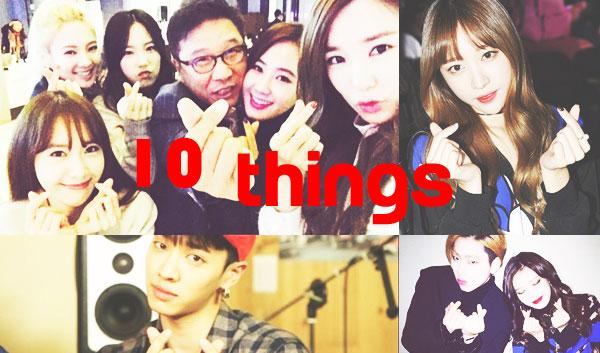 10things finger heart