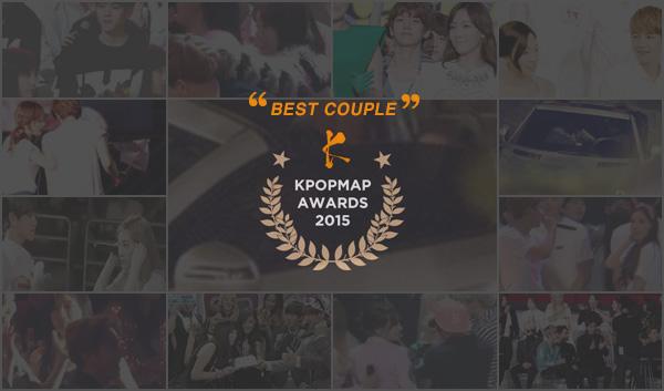 KPOPMAP AWARDS 2015 BEST COUPLE BAEKHYUN TAEYEON