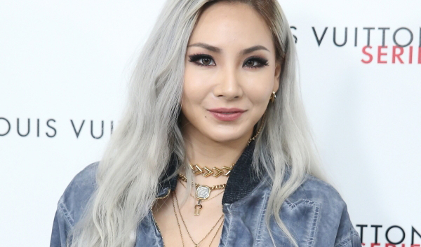 CL at MBS Singapore for Louis Vuitton Exhibition Series 3