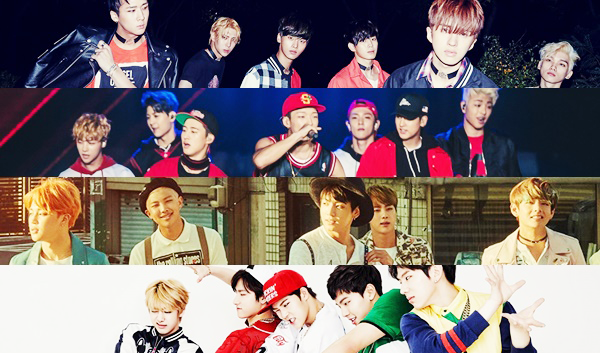 EXO RIVAL BOY GROUP BTS