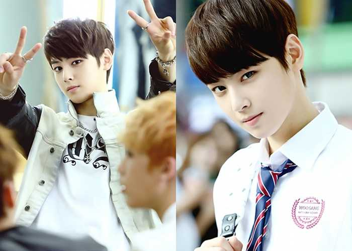 cha eun woo astro 97 line idols 20's most expected