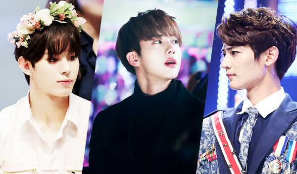Idol Boys like Prince Charming