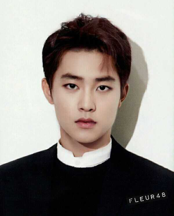 IDOL GROUP EXO AVERAGE FACE