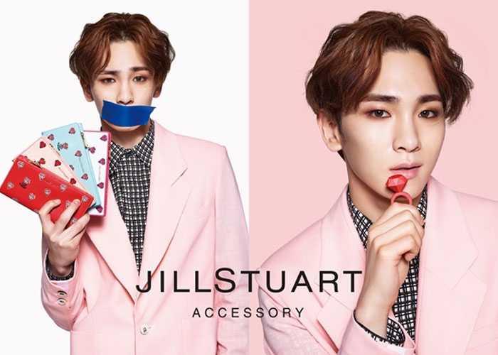 JILLSTUART shinee key valentine idol 2016