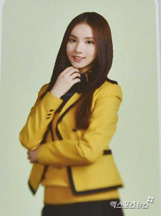 gfriend eunha high school graduation yearbook photo