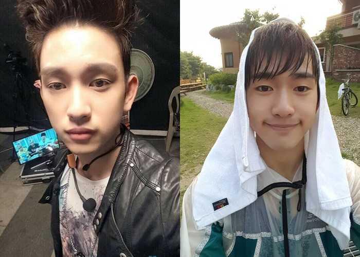 got7 junior ugly selfie idol stars