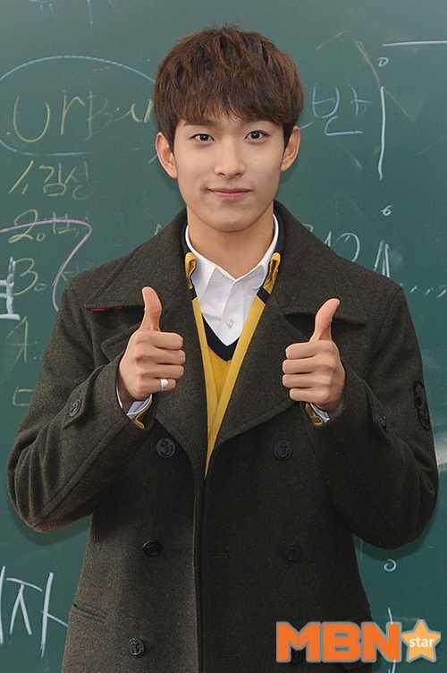 seventeen dokyum graduating high school yearbook photos