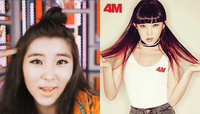 Idols' Now & Then Photos: 4MINUTE   Kpopmap