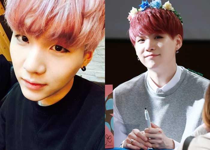 Suga Bts Wannabe Hair Colors Of K Idol Stars
