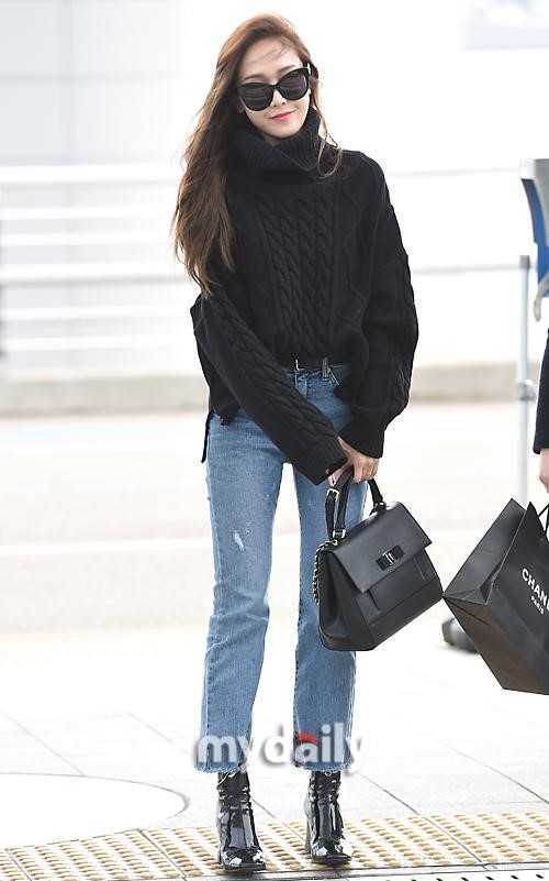 airport fashion    jessica jung  u2022 kpopmap