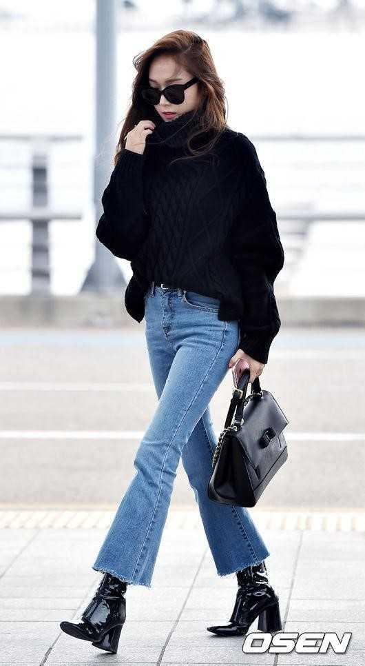 Airport Fashion Jessica Jung Kpopmap