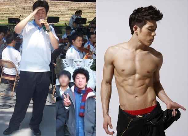 Korea gym boy