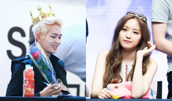 kpop, kpop idols, kpop crowned idols, kpop prince, kpop princess, nine muses, b1a4, baro, bts, jungkook, bts suga, daehyun, heechul, infinite, jeonghan, jonghyun, shinee, onew, taemin, red velvet joy, lovelyz, kei, btob, btob sungjae, exo, exo kai, xiumin, siwan, naeun
