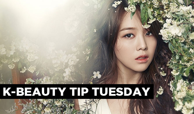 kpop, kpop beauty tip, kpop minah, girls day, girls day minah, minah beauty tip, kpop map beauty tip tuesday, kbeauty tip, kbeauty, natures republic body oil, innisfree body oil