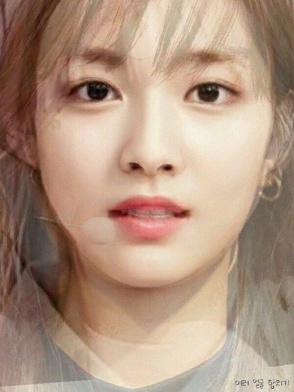 clc average face, twice average face, kpop idol  average face, girl group  average face, red velvet  average face, oh my girl  average face, gfriend  average face, lovelyz  average face