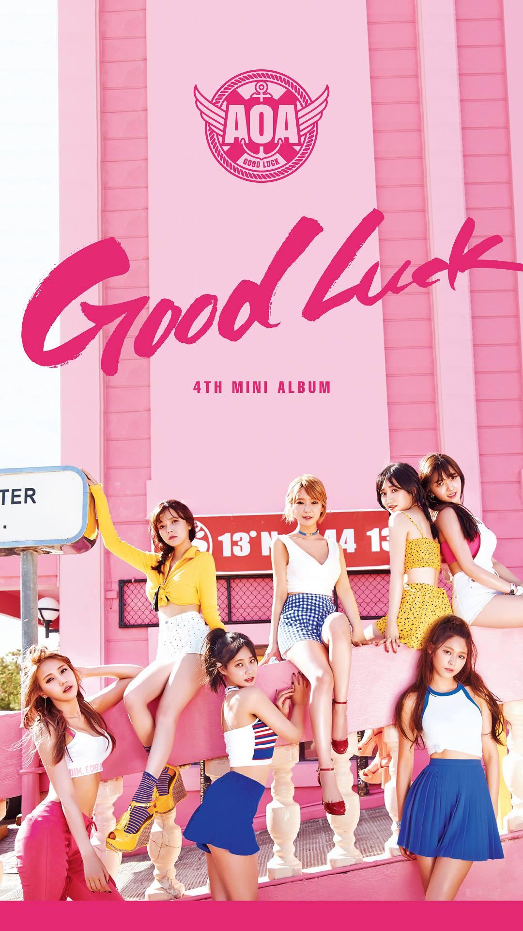 Photo Aoa Good Luck Mobile Wallpapers Kpopmap