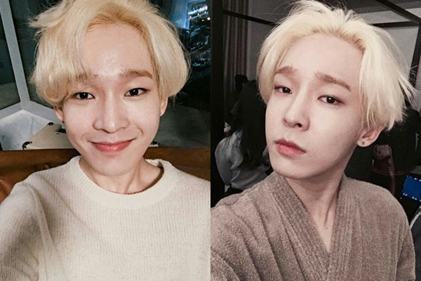 11 Male K Pop Idols Who Slay The Blonde Hair Kpopmap