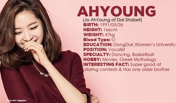 dal shabet, dal shabet profile, dal shabet ahyoung, jo ahyoung, ah young