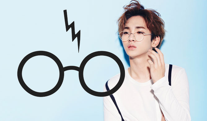 kpop, kpop male idols, kpop idols, kpop glasses, kpop idols glasses, kpop harry potter, kpop harry potter glasses, kpop round glasses