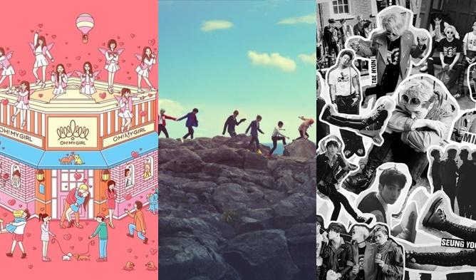 bts album, winner album, exid album, super junior album, oh my girl album, f(x) album, tts album, kpop non title tracks