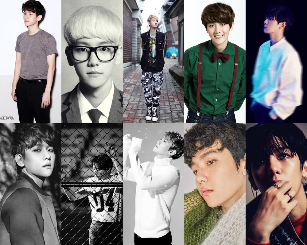 exo, exo debut, exo comeback, exo 2016, exo album covers, exo members, exo throughout the years, exo debut to now, exo members 2016, exo profile, exo information, exo transition, exo change, baekhyun then and now, baekhyun 2016