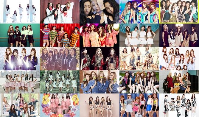 kpop, kpop idols, kpop idols age, kpop girl groups, kpop girl groups age, kpop girl groups average age, kpop girl group chart, kpop girl groups 2016