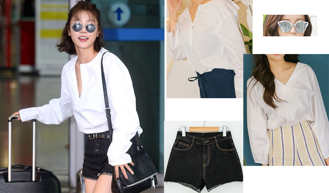 FAB FASHION FRIDAY  K-Pop Idols Summer Shades Airport Fashion • Kpopmap 78a5be700