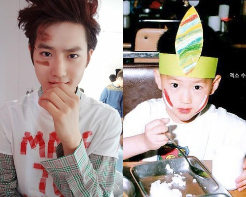 Suho Baby Picture
