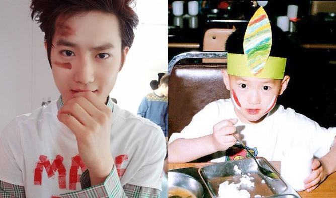 12 K Pop Male Idols Who Look The Same As Baby Photos Kpopmap