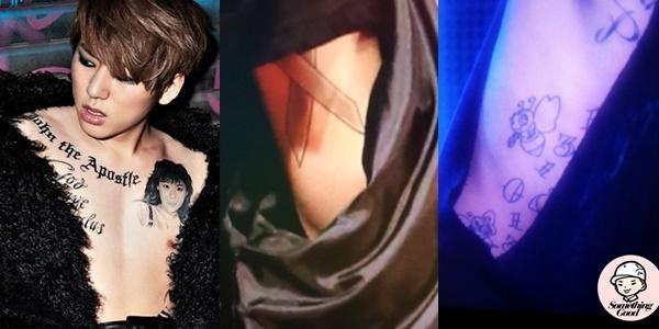 kpop idols, kpop tattoo, kpop idols tattoo, kpop idols tattoo meanings, zico tattoo, zico tattoo meaning