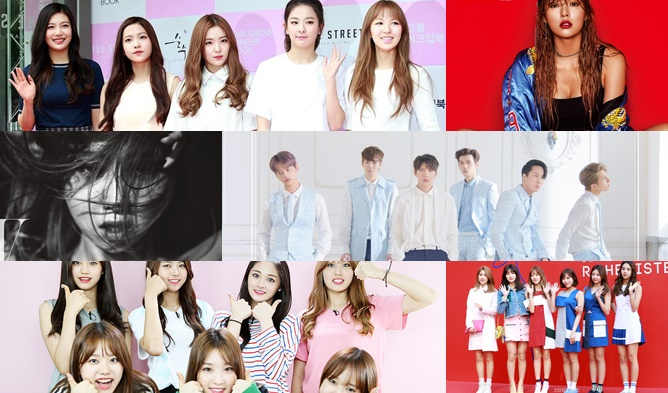 kpop comeback, kpop 2016, kpop comeback 2016, kpop august 2016, kpop comeback august 2016, kpop comeback lineup, kpop lineup