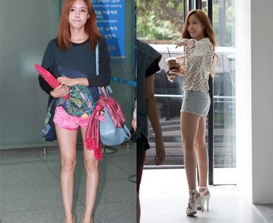 13 K-Pop Girl Idols Skinny Legs With Absolutely No Fat  Kpopmap-1532