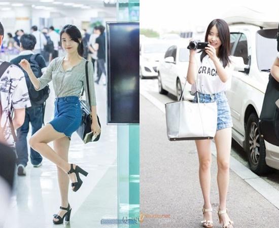kpop idol legs, kpop sexy legs, kpop skinny legs, iu legs