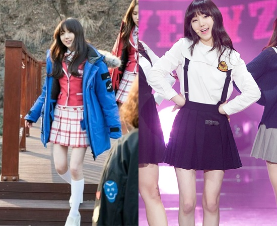 13 K-Pop Girl Idols' Skinny Legs With Absolutely No Fat