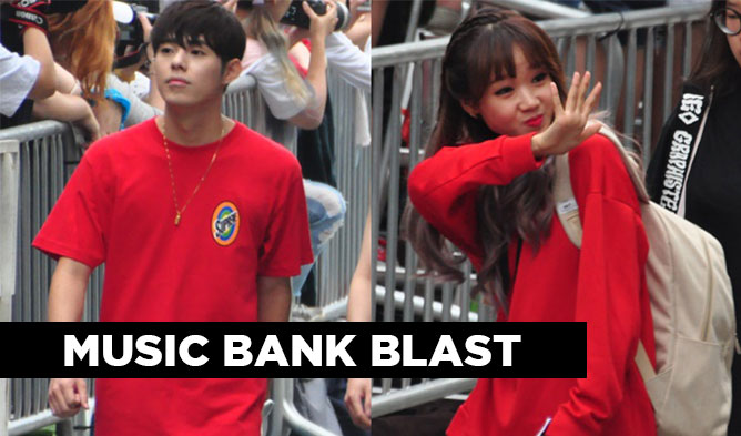 music bank blast, music bank, music bank 160819, kpop couples, stella music bank, up10tion music bank, sleepy music bank, gavy nj music bank, ioi music bank, mask music bank