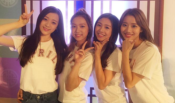 kpop april, dsp april, april representative, april k-food, april korean food, april kfood, april k-food fair